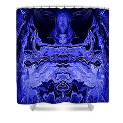Abstract 72 Shower Curtain by J D Owen