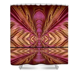 Abstract 74 Shower Curtain by J D Owen
