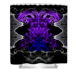 Abstract 83 Shower Curtain by J D Owen
