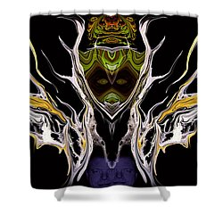 Abstract 94 Shower Curtain by J D Owen