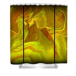 Abstract 99 Shower Curtain by J D Owen