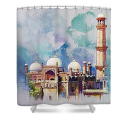Badshahi Mosque Shower Curtain by Catf