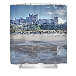 Bamburgh Castle 2 Shower Curtain