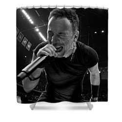 Bruce Springsteen Shower Curtain