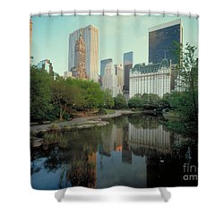 Central Park Shower Curtain by Rafael Macia