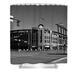 Coors Field - Colorado Rockies Shower Curtain