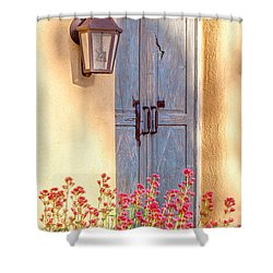 Doors Of Santa Fe Shower Curtain