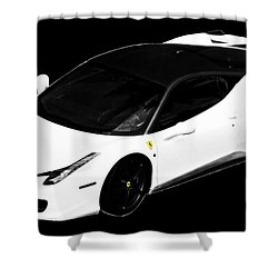 Ferrari Shower Curtain by J Anthony
