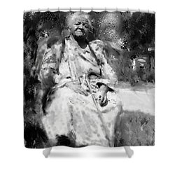 Former Slave Woman Shower Curtain