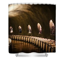 Fruits Of The Vine Shower Curtain
