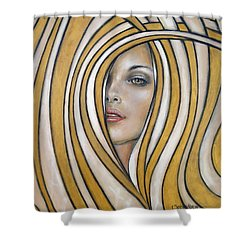 Golden Dream 060809 Shower Curtain
