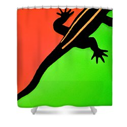 I'm Outta Here Shower Curtain