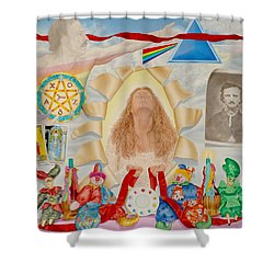 Invocation Of The Spectrum Shower Curtain