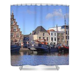 Leiden Shower Curtain by Joana Kruse