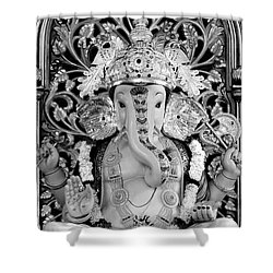 Lord Ganesha Shower Curtain