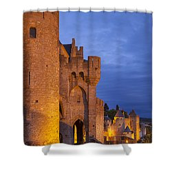 Medieval Carcassonne Shower Curtain by Brian Jannsen