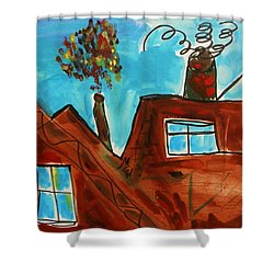 3 Million Tons Per Year Shower Curtain by Mary Carol Williams