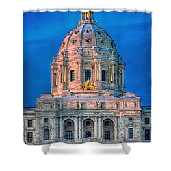 Minnesota State Capitol St Paul Shower Curtain by Amanda Stadther