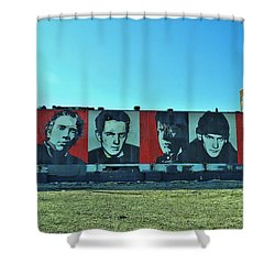 Mount Rush Core 2 Shower Curtain