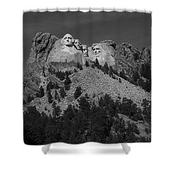 Mount Rushmore Shower Curtain by Frank Romeo
