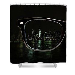 Night Vision Shower Curtain by Natasha Marco
