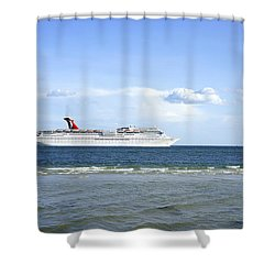 Carnival Cruise Line Shower Curtains Fine Art America - Cruise ship shower