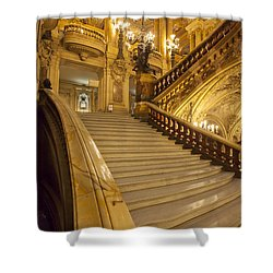 Palais Garnier Interior Shower Curtain by Brian Jannsen