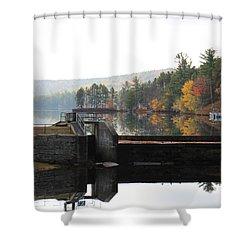 Pine River Pond  Shower Curtain