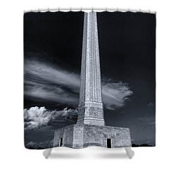 San Jacinto Monument One Sky One Star Shower Curtain