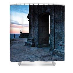 Sanctuary Shower Curtain by Edgar Laureano