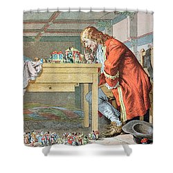 Scene From Gullivers Travels Shower Curtain by Frederic Lix