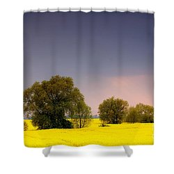 Spring Landscape Shower Curtain by Michal Bednarek