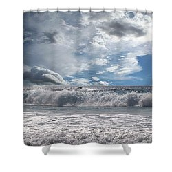 Shower Curtain featuring the photograph Sunlight by Athala Carole Bruckner