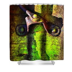 Synapse Shower Curtain by Lauren Leigh Hunter Fine Art Photography
