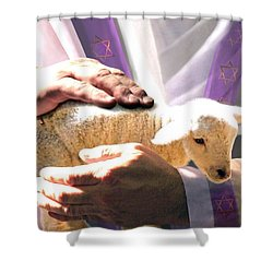The Chosen Shower Curtain by Bill Stephens
