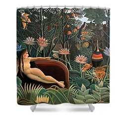 The Dream Shower Curtain by Henri Rousseau