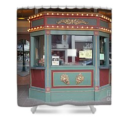 Shower Curtain featuring the photograph The Tivoli Theatre by Kelly Awad