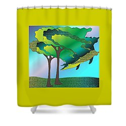 Tree Time Shower Curtain