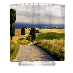Tuscany Shower Curtain by Brian Jannsen
