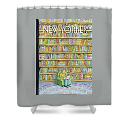 New Yorker October 18th, 2010 Shower Curtain