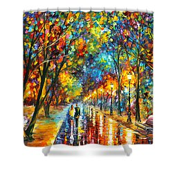 When Dreams Come True Shower Curtain by Leonid Afremov
