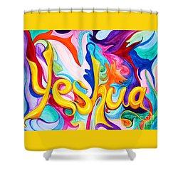 Yeshua Shower Curtain