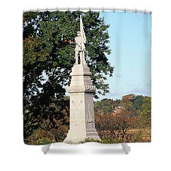 30u13 Hood Park Monument To Civil War Soldiers And Sailors Photo Shower Curtain