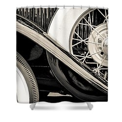 '31 Model A Wheels Shower Curtain