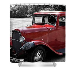 32 Ford Coupe Charmer Shower Curtain