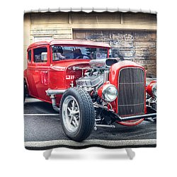 '32 Ford Coupe Souped Shower Curtain