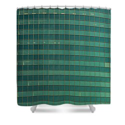 333 W Wacker Building Chicago Shower Curtain by Steve Gadomski