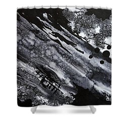 Boat Andtree Shower Curtain