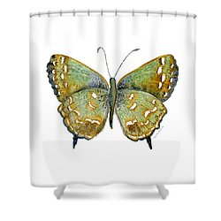 38 Hesseli Butterfly Shower Curtain