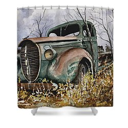 39 Ford Truck Shower Curtain